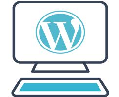 icona che rappresenta il logo di WordPress